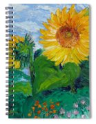 Van Gogh Sunflowers Spiral Notebook