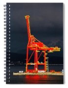 Vancouver, Bc - Harbour Spiral Notebook