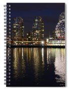 Vancouver British Columbia 2 Spiral Notebook