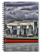 Vancouver Freighter Hdr Spiral Notebook