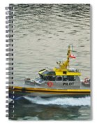 Vancouver Harbour Pilot Spiral Notebook