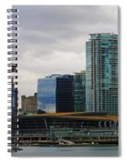 Vancouver Panorama Spiral Notebook