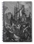 Vandal Invasion Of Africa Spiral Notebook