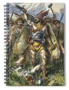 Vandal Invasion Of Rome Spiral Notebook