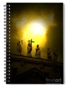 Vatican City Statues Vatican City Rome Italy Spiral Notebook