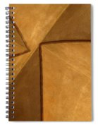 Vaulted Abstract II Spiral Notebook