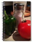 Veggies And Salt Spiral Notebook
