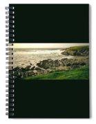 Velencia Island Shore Spiral Notebook
