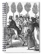 Velocipede, 1827 Spiral Notebook