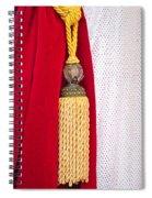 Velvet Curtain Spiral Notebook