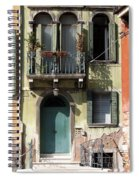 Venetian Doorway Spiral Notebook