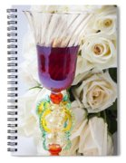Venetian Glass Spiral Notebook