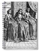 Venetian Women, C1600 Spiral Notebook