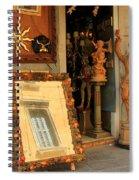 Venice Antique Shop Spiral Notebook