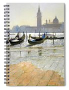 Venice At Dawn Spiral Notebook