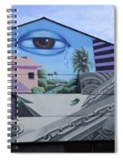 Venice Beach Wall Art 3 Spiral Notebook