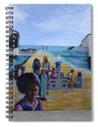 Venice Beach Wall Art 4 Spiral Notebook