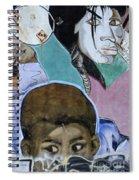 Venice Beach Wall Art 7 Spiral Notebook
