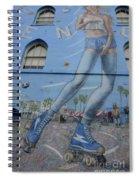 Venice Beach Wall Art 9 Spiral Notebook