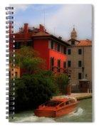 Venice Canals 7 Spiral Notebook