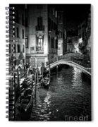 Venice Evening Spiral Notebook