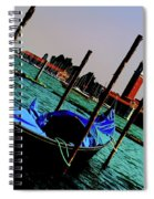 Venice In Color Spiral Notebook