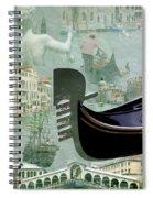 Venice Montage Spiral Notebook
