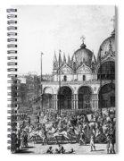 Venice: Saint Marks, 1797 Spiral Notebook