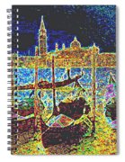 Venice Venezia Glow Spiral Notebook
