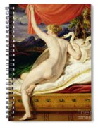 Venus Rising From Her Couch Spiral Notebook