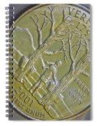 Vermont 2001 Spiral Notebook