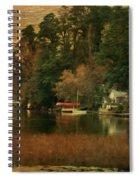 Vermont Autumn Shoreline Spiral Notebook