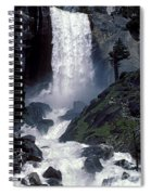 Vernal Falls Spring Flow Spiral Notebook