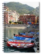 Vernazza's Harbor Spiral Notebook