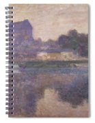 Vernon Church In Fog Spiral Notebook