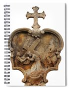 Veronica Wipes The Face Of Jesus Spiral Notebook