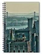 Verrazano From Manhattan Spiral Notebook