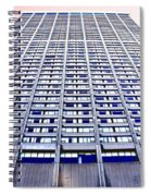 Vertical Urbanization Spiral Notebook