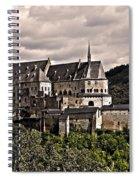 Vianden Castle - Luxembourg Spiral Notebook