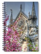 Vibrant Cathedral Spiral Notebook