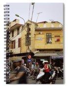 Vibrant Hanoi Spiral Notebook