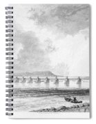 Victoria Bridge Spiral Notebook