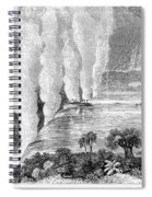 Victoria Falls, C1860 Spiral Notebook