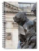 Victoria Memorial Fountain Spiral Notebook