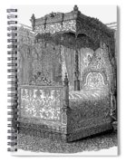 Victorian Bed, 1846 Spiral Notebook