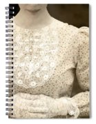 Victorian Dress Spiral Notebook