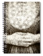 Victorian Hands Spiral Notebook