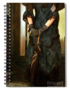 Victorian Lady  Spiral Notebook