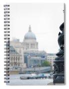 Victorian Lampposts Spiral Notebook