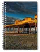 Victorian Pier Spiral Notebook